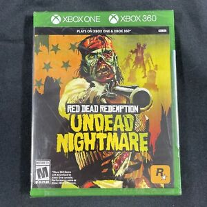 Red Dead Redemption Undead Nightmare Xbox 360/Xbox One!!Factory Sealed!!