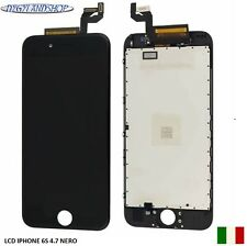 TOUCH SCREEN+LCD DISPLAY RETINA + FRAME PER APPLE IPHONE 6S 4.7   NERO