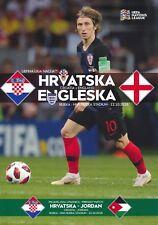CROATIA v England (UEFA Nations League 12/10) 2018 Official match programme