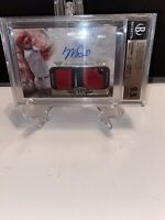 2016 TOPPS TIER ONE AUTOGRAPHED MIKE TROUT 22/25 DUAL RELIC SSP BGS 9.5/10 AUTO