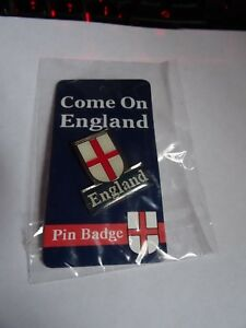 England/St George Pin Badge. Larger Shield.