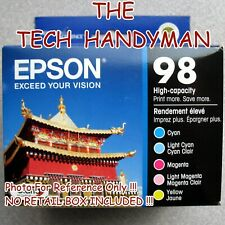 5-PACK Epson GENUINE 98 Color Ink (NO RETAIL BOX) ARTISAN 800 810 835 837