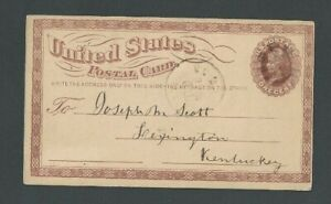 1875 UX3a Unwatermarked UPSS #875 Known Used Only Rare