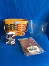 1998 Longaberger 25th Anniversary Flag Basket Combo Set ~