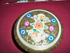 """VINTAGE ~ """"ENGLISH FLOWER"""" TIN!   VERY GOOD COND!   BUY IT NOW!   SALE!"""