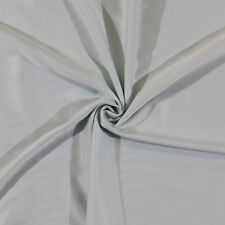 Brushed-Back Nightgown Cream Puff Satin - Mint - Fabric by the Yard D407.02