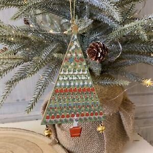 Wood 12 Days of Christmas Tree Decoration Gisela Christmas 2021 Traditional Bell