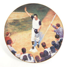 1994 Bradford Exchange Bill Mazeroski Winning Home Run Collectors Plate w/COA
