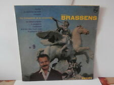 "georges brassensn°9""lp10"".or.Fr.philips:76.563.r.mono de 1962."