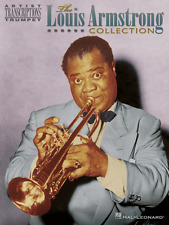 """""""THE LOUIS ARMSTRONG COLLECTION"""" ARTIST TRANSCRIPTIONS-TRUMPET MUSIC BOOK-NEW!!"""