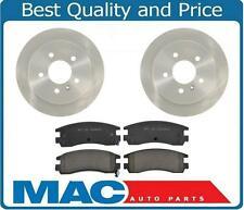 Rear Brake Pads & Rotors For Buick Allure LaCrosse & Chevy Impala Monte Carlo