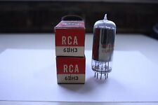 PAIR (QTY 2) 6BH3 RCA VINTAGE TUBES - NOS IN BOXES