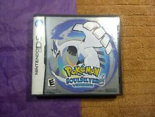 Pokemon Soul Silver Version Nintendo DS, Case and Manual No Game.