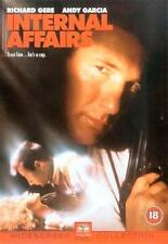 INTERNAL AFFAIRS RICHARD GERE ANDY GARCIA PARAMOUNT UK REGION 2 DVD NEW RARE