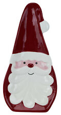 13321 Curly Beard Santa Claus Spoon rest Kitchen Decor Cooking Baking Christmas