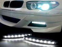 Auto Fahrzeuge 6 Led Tagfahrleuchte DRL Satz Nebelscheinwerfer Fahr Tageslicht