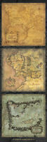 Lord of the Rings Door Poster - 3 x Maps of Middle Earth  -  HUGE Door Poster