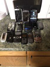 LOT OF 14 CELL PHONES AS IS FOR PARTS REPAIR OR SCRAP SAMSUNG HTC MOTOROLA