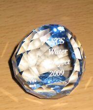 Swarovski – SCS Event 2009 Water Projekt Paperweight Blau