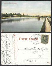 1908 Pennsylvania Postcard - Harrisburg - Reservoir, Metro News Co. #8907