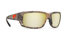 Costa del Mar Fantail Sunglasses Realtree Camo Silver Sunrise 580P Lens - NEW