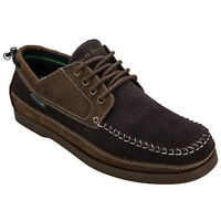 Men's Nicholas Deakins Gibsons Loafer Shoes In Dark Brown From Get The Label