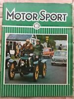Motor Sport Magazine - December 1969 - Maxi Tuning, Ford Capri GT, GP Drivers