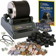 More details for national geographic hobby rock tumbler kit - rock polisher for kids & adults,