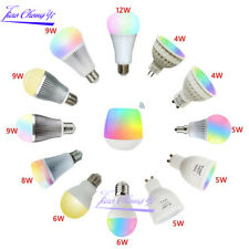 LED Bulb 6W 9W 12W MR16 GU10 E27 Dual white RGBCCT Lamp 2.4G RF Wireless Remote