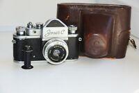 "RARE ZENIT-C Soviet SLR 35 mm film camera VINTAGE OLD w/s lens ""Industar-50"" EXC"