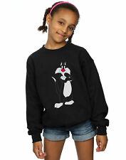Looney Tunes Girls Sylvester Crossed Arms Sweatshirt