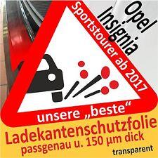 Opel Insignia B Sportstourer Lackschutzfolie Ladekantenschutz Auto Schutzfolie