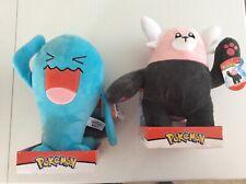 "Pokémon *Bewear* Or *Wobbuffet* Plush Stuffed Animal Toys - Size: 12""  Brand New"