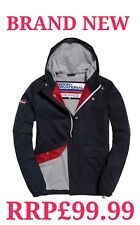 NEW RRP£99.99 3XL SIZE MENS SUPERDRY NEW YORK HARBOUR NAUTICAL NAVY JACKET 9973