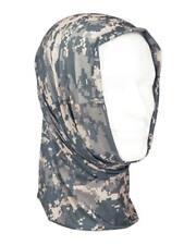 Pañuelo cabeza bandana gorro Multifunción camuflaje ACU o AT Digital