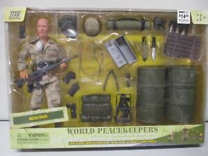 Power Team Elite World Peacekeepers Delta Force with Accessories