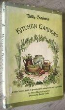Betty Crocker's Kitchen Gardens Cookbook Vintage 1971 Recipes Library Discard