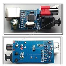 HiFi Digital Sound Card USB to coaxial Optical Fiber i2s/DTS source output