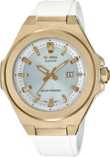 Casio BABY-G G-MS MSGS500G-7A Gold/White Women's 2020 Brand New Withtags