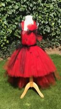 Handmade Tulle Halloween Fancy Dresses for Girls