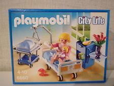 Playmobil City Life 6660 Chambre de malade avec lit bébé -