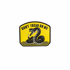 Don'T Tread On Me - Yellow Pvc Patch