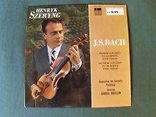 J-S BACH concerto violon 1 & 2 / HENRYK SZERYNG dir G BOUILLON LP ODEON XOC 809