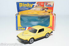 DINKY TOYS 112 PURDEY'S PURDEY S TRIUMPH TR7 TR 7 YELLOW NEAR MINT BOXED