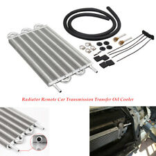 12''Radiator Remote Car Transmission Transfer Oil Cooler W/Cooling 6 Row Durable