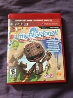 Little Big Planet Game Of The Year Edition Sony PS3 COMPLETE VG 2007