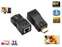 4K HDMI vers Réseau RJ45 Extender Récepteur et émetteur Lan Cat 5e/6 jusqu'à 30M