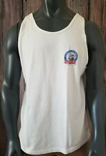 Vtg Fishing Tank top 25th Anniversary Tarpoon Tide Tournament 1977-2001 sz XL