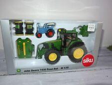 Siku 6520 JohnDeere 7430 als Set zur Agritechnica 2007 OVP (19244)