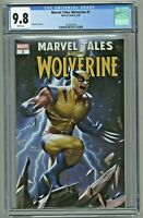Marvel Tales Wolverine #1 CGC 9.8 InHyuk Lee Cover Edition 1st First Print